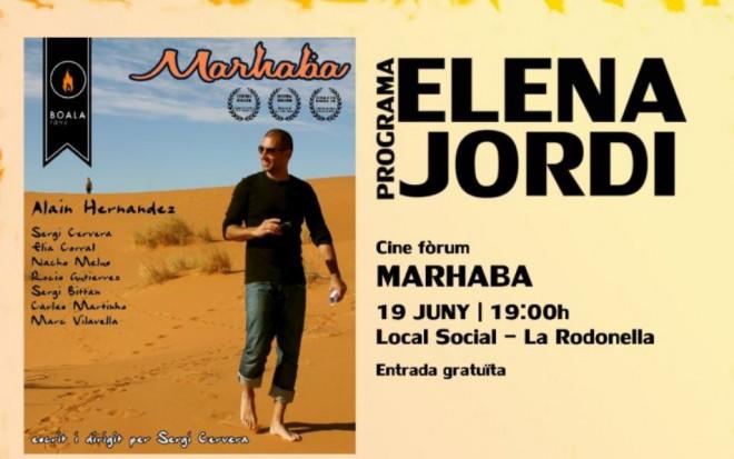 """Cinefòrum """"Marhaba"""" @ Local Social La Rodonella (CERCS)"""