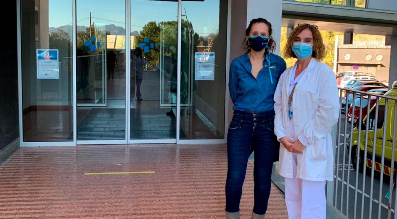El càmping Berga Resort regala un dia de relaxació al personal d'infermeria de l'hospital per agrair-los la feina feta