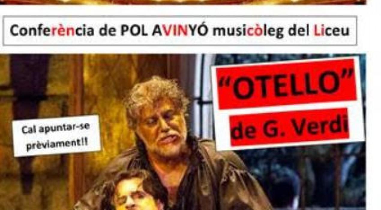 Conferència amb POL AVINYÓ, musicòleg del Liceu