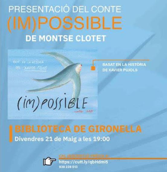 Presentació del conte (IM)POSSIBLE @ Biblioteca de Gironella