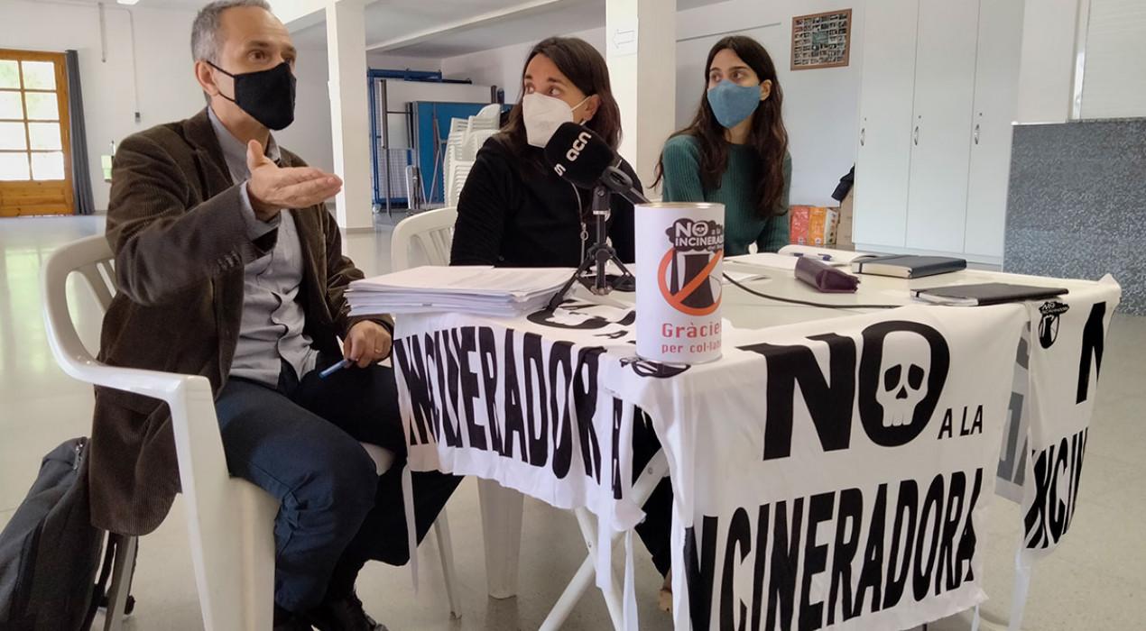 La Plataforma Anti-Incineradora amenaça de portar l'alcalde de Cercs als tribunals si no recupera els terrenys de la central