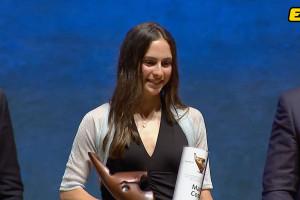 Maria Costa, dels Mountain Runners, reconeguda com l'esportista amb més projecció de Catalunya