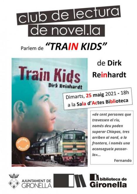 Club de lectura: TRAIN KIDS @ Biblioteca de Gironella