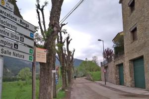 La Diputació assumeix la gestió de les carreteres que permeten arribar a Gisclareny, Montclar i Castell de l'Areny