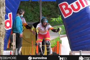 La berguedana Aura Coronado, medalla d'or sub-16 a la primera cita de la Copa del Món d'Alpí en Línia