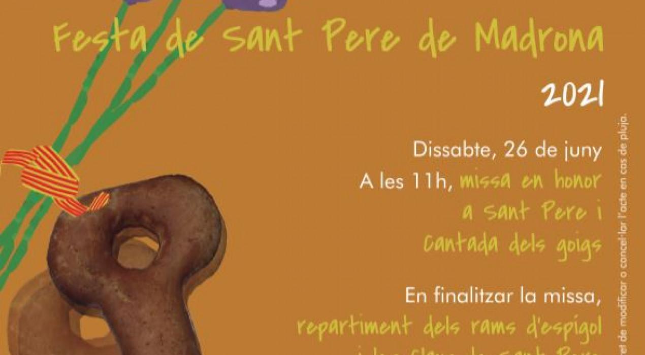 Festa de Sant Pere de Madrona 2021