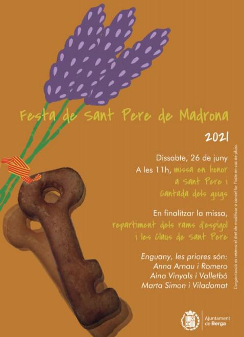 Festa de Sant Pere de Madrona 2021 @ Sant Pere de Madrona