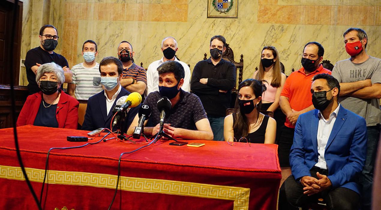 L'Ajuntament de Berga i les comparses reclamen en bloc que la Generalitat doti la Patum d'un finançament estable