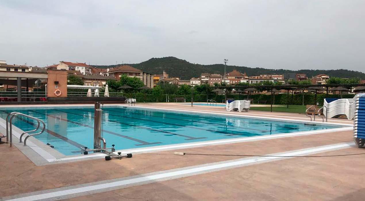Gironella i Puig-reig obren la piscina aquest dissabte