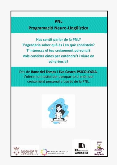 XERRADA: Saps què és la PNL? @ Biblioteca de Gironella