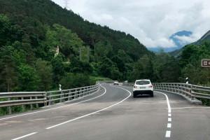 Reobert al trànsit el pont entre Guardiola i la Pobla de Lillet, tancat per obres des del març