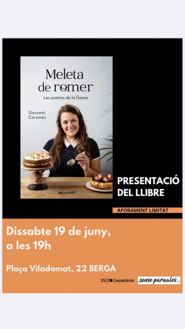 """Presentació del llibre """"Meleta de romer"""" @ Sense Paraules (Pl. Viladomat, 22 · BERGA)"""