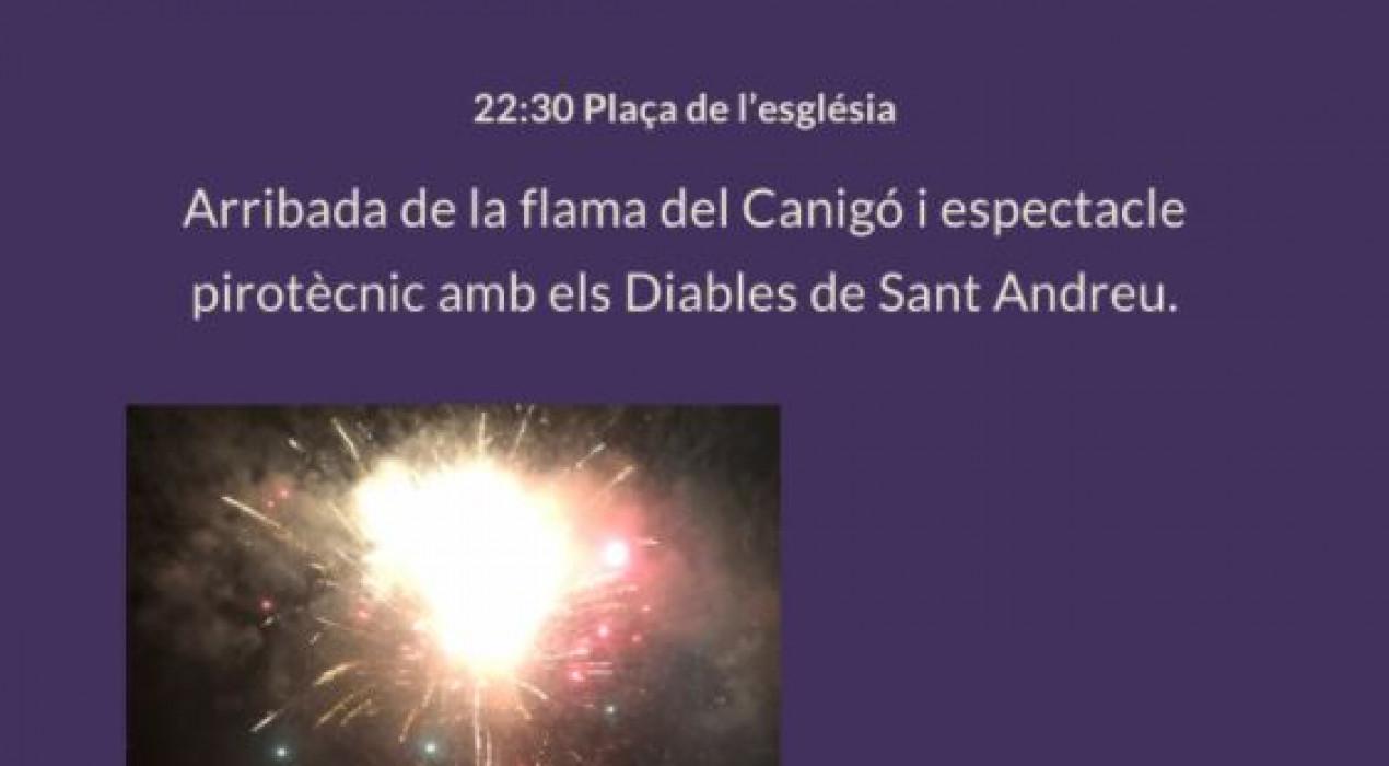 Revetlla de Sant Joan a Guardiola de Berguedà 2021