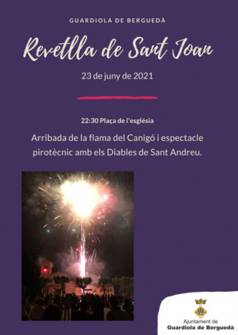 Revetlla de Sant Joan a Guardiola de Berguedà 2021 @ Plaça de l'Església(GUARDIOLA DE BEGRUEDÀ)