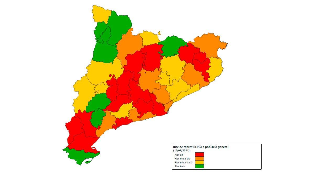 Per què el Berguedà ha passat de ser el lloc amb menys afectació de la Catalunya central a tenir el risc de rebrot més alt del país?