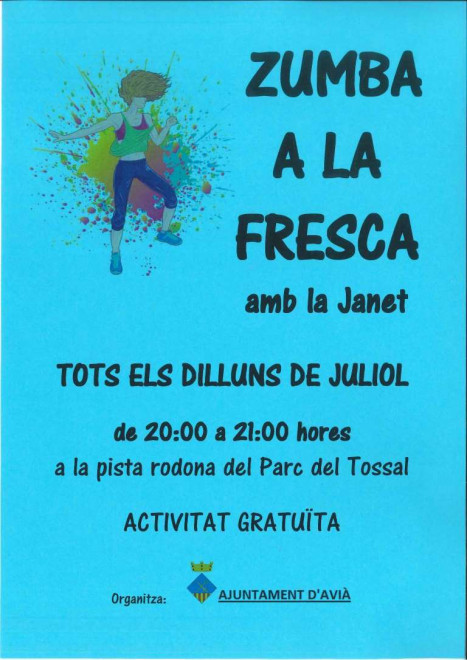 Zumba a la Fresca 2021 @ Parc del Tossal (AVIÀ)