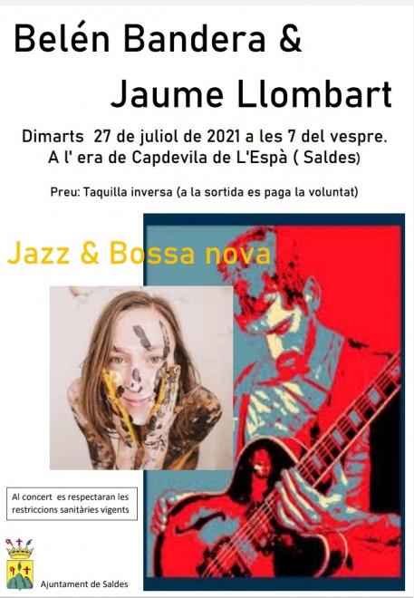 Concert Belén Bandera i Jaume Llombart @ Era de Capdevila de l'Espà (SALDES)