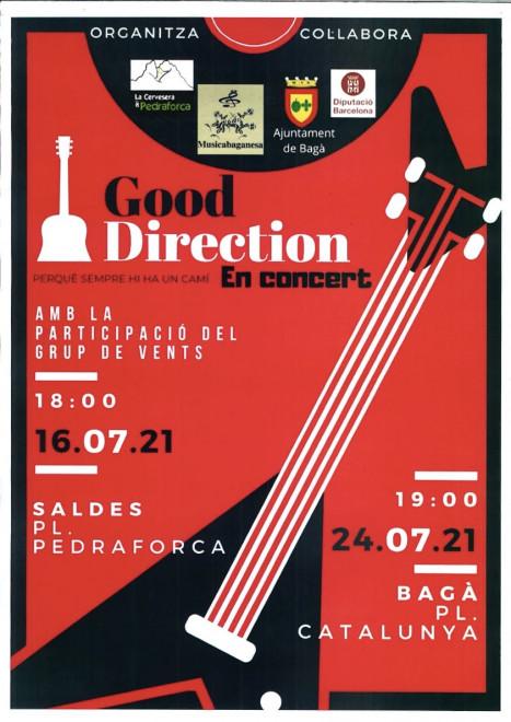 Concert Good Direction @ Pl.Catalunya (BAGÀ)