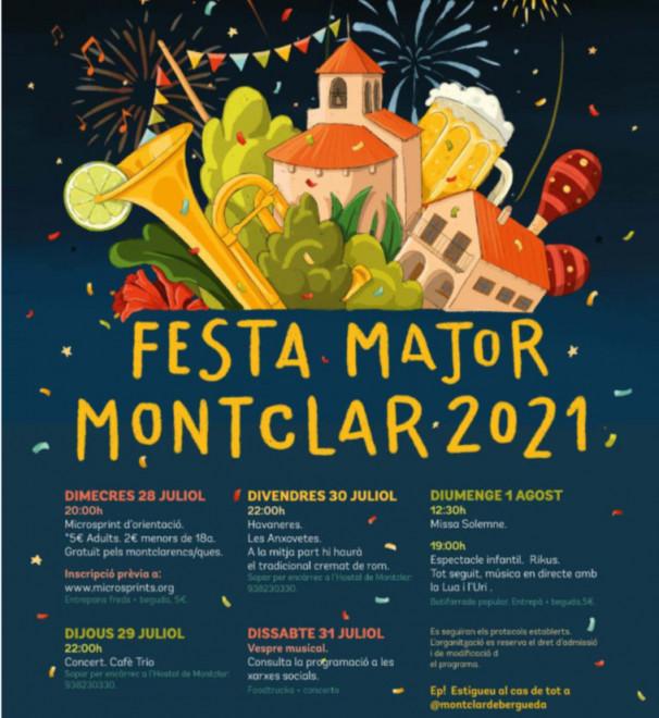 Festa Major de Montclar 2021 @ Montclar