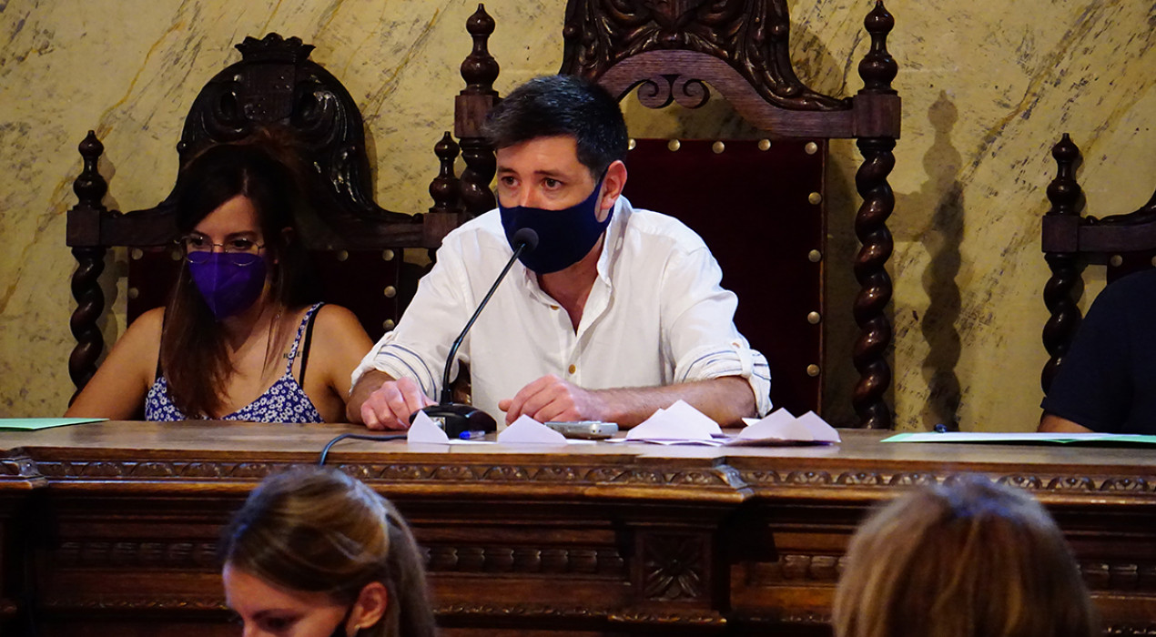 Ivan Sánchez passa a treballar a jornada completa a l'Ajuntament de Berga i Andreu Comas assumeix Participació Popular i Turisme