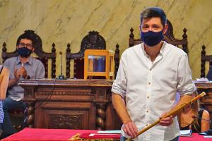Ivan Sánchez, investit nou alcalde de Berga