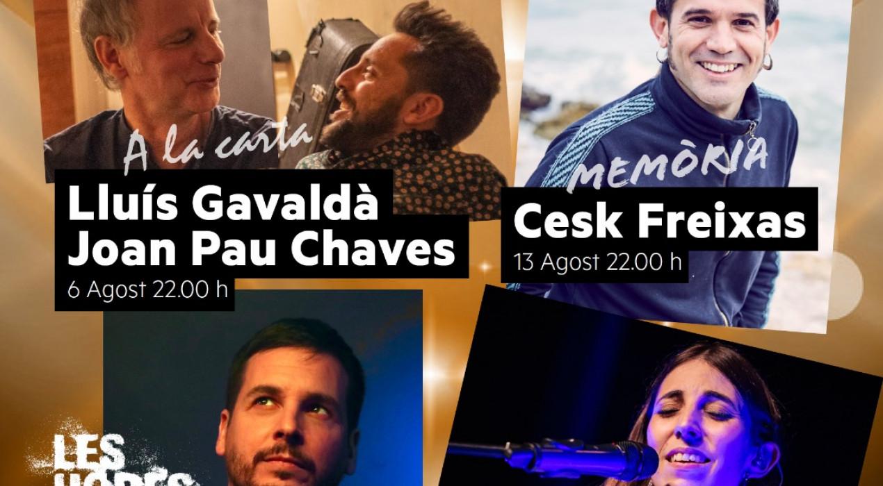 Nits Musicals als Pins del Metge: Pau Alabajos